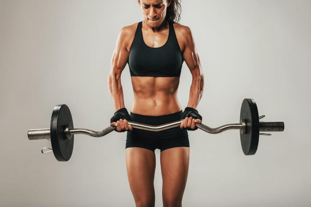 Women training like a man