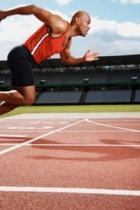 A sprinter requires both strength and power for optimal performance- attributes that aerobic exercise can inhibit