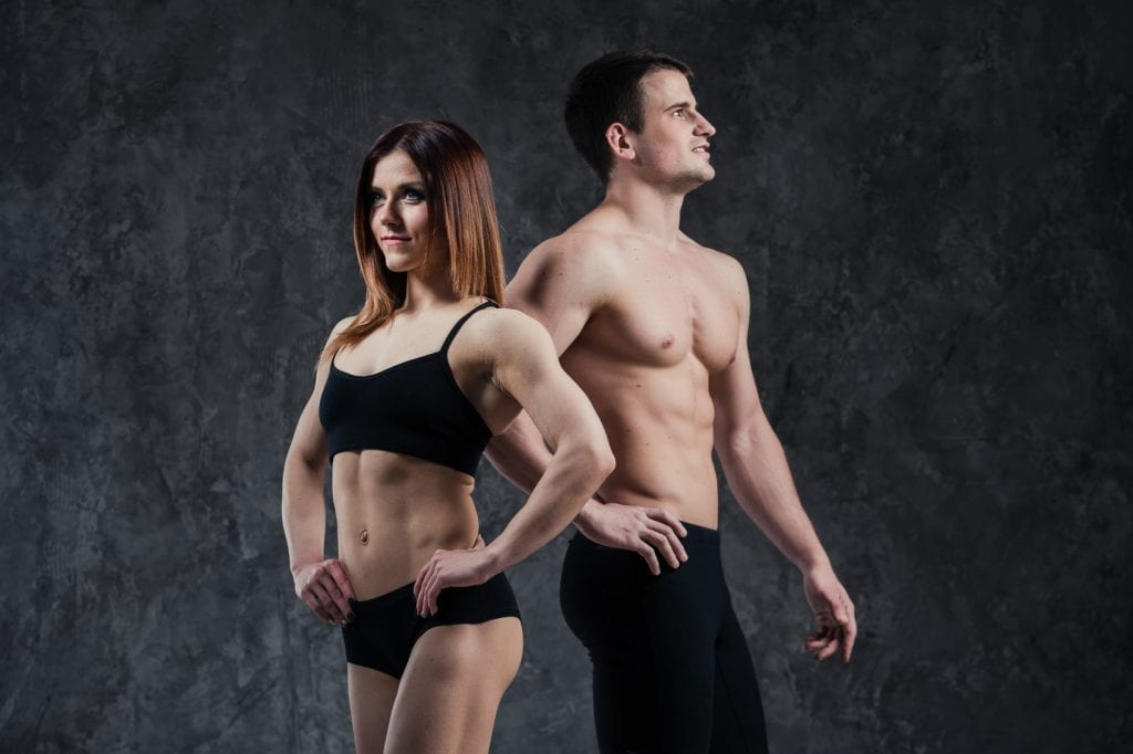 how long does it take to get muscle definition- couple