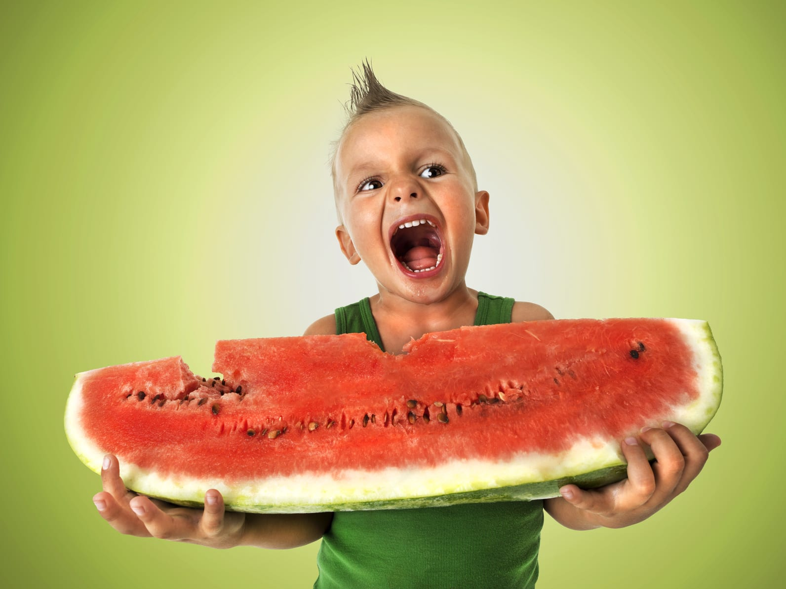how to lose 5 pounds overnight- eat a large serving of watermelon