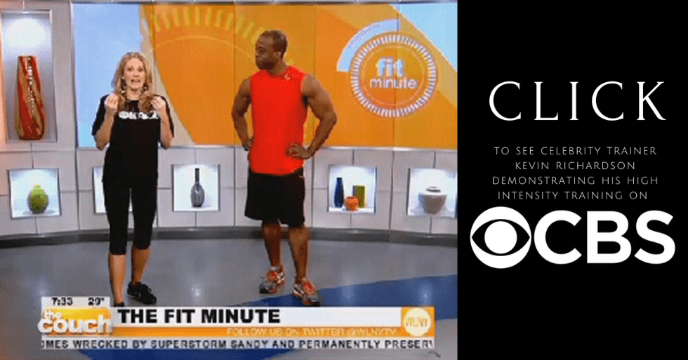 Celebrity personal trainer New York City Kevin Richardson on CBS News