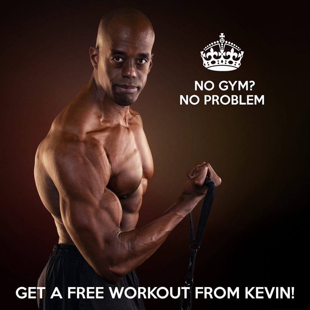 Click for a free home high intensity workout from celebrity trainer, Kevin Richardson.